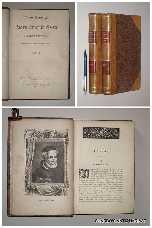 VIEIRA, ANTONIO, -  Cartas. (2 vol. set).